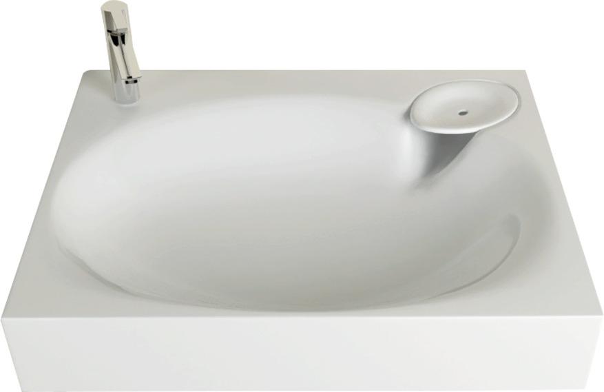 Раковина Marka One Lavanderia 60 цвет белый, прямоугольная У71490 купить онлайн с доставкой в интернет-магазине SantPrice.ru