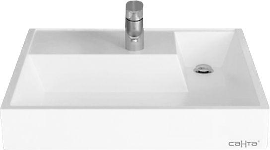 Раковина СанТа Юпитер 900116 60х60 квадратная, цвет белый купить онлайн с доставкой в интернет-магазине SantPrice.ru