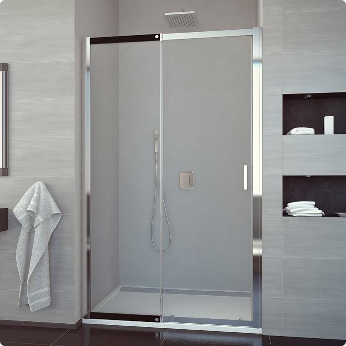 1800 high shower door 3 panel bathtub sliding doors